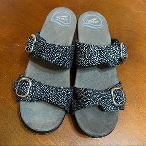 Dansko Sophie leather strapped sandals
